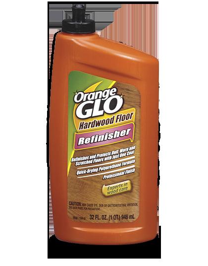 Orange Glo Hardwood Floor Refinisher - Hardwood floor refinisher