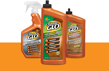 Orange Glo Hardwood Floor and Furniture Care, Cleaning, and Protection